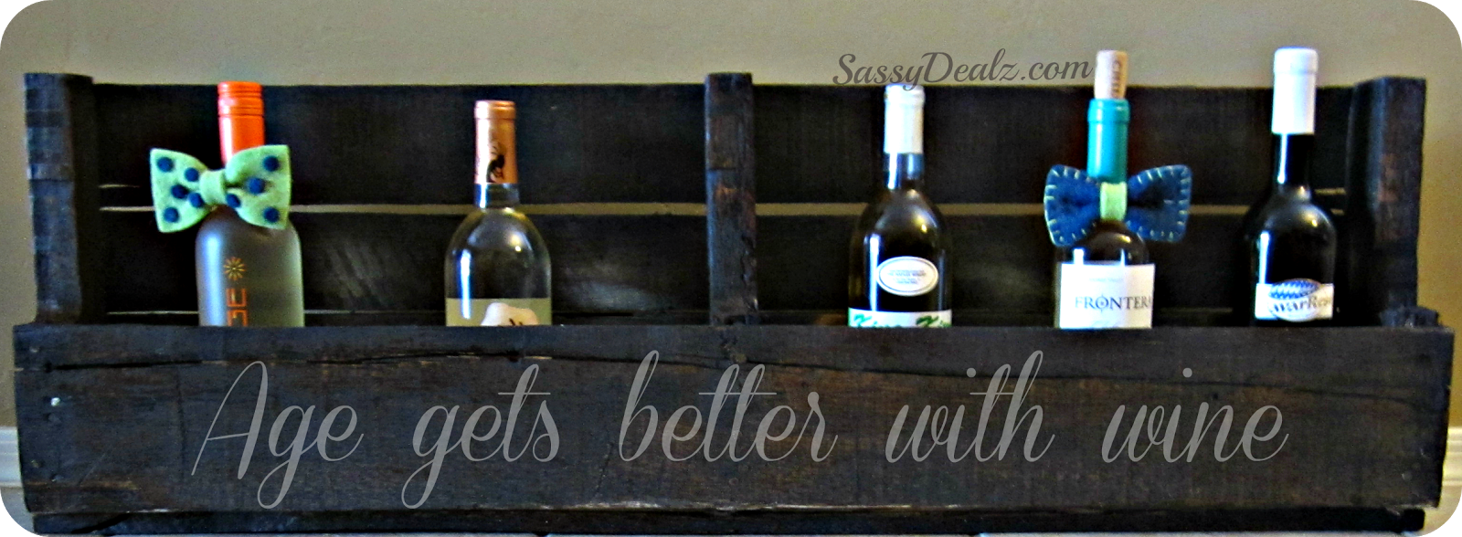 DIY: How To Make A Wine or Magazine Rack Out of a Wood Pallet ...