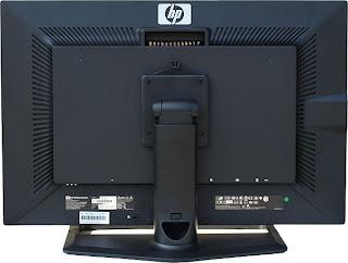HP ZR30w LCD IPS monitor Back