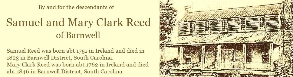 Samuel and Mary Clark Reed of Barnwell