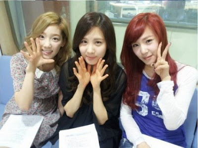 Taeyeon, Tiffany & Seohyun 'SNSD' Tanpa Make Up