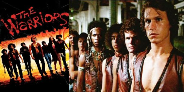 The warriors, película