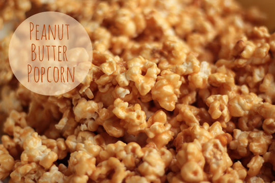 peanut butter popcorn recipe blog