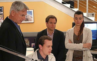 Michael Weatherly and Cote de Pablo in NCIS - Ziva is leaving the team