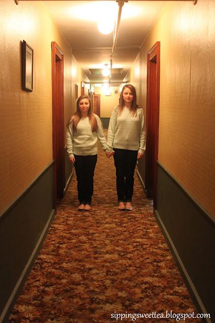 the shining, creepy hotel, grady twins