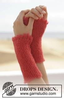 Gratis strikkeoppskrift på pulsvarmere