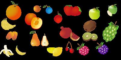 تحميل كل أنواع الفواكه مجانا { PNG / Vector }