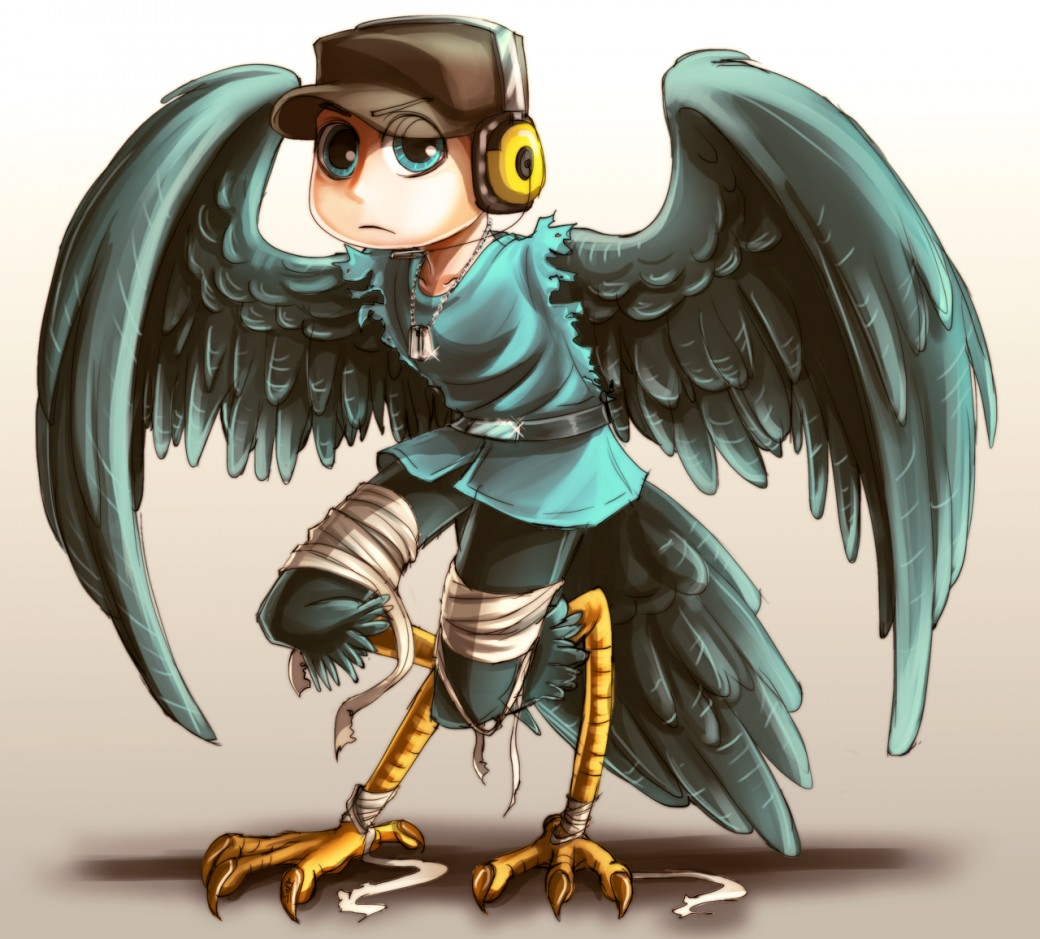 TF2: Harpy Scout Coloured por DarkLitria