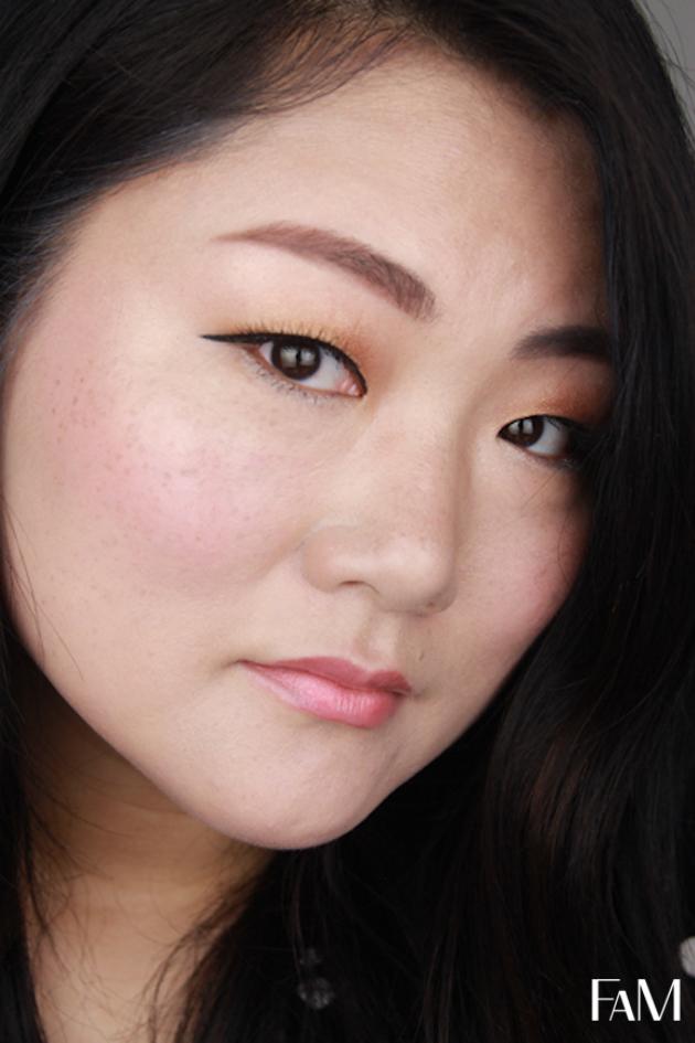 Korean Makeup Style Droppy Eyeliner for asian monolid