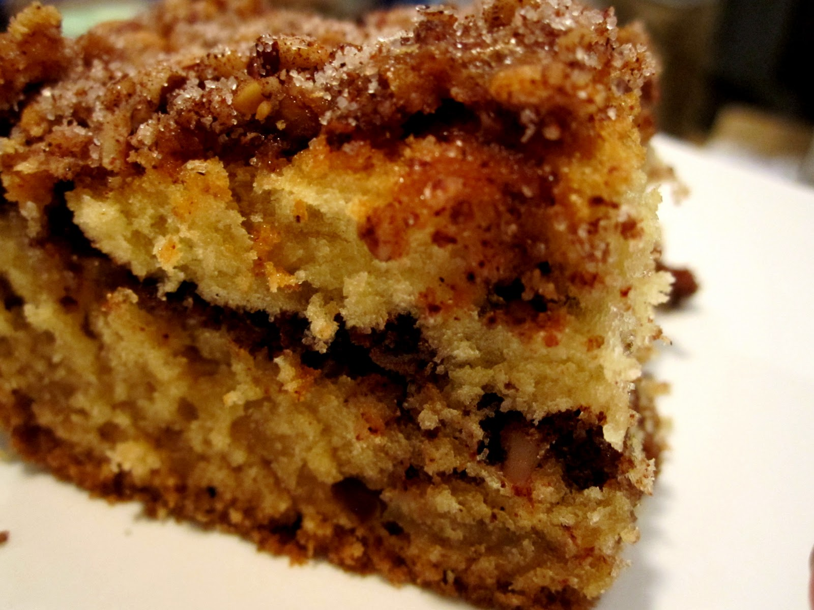 Life's Sweeter with Chocolate: Sour Cream Coffee Cake