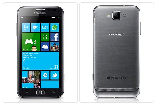 Samsung first Windows 8 phone