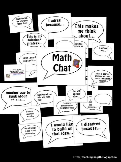 Teachingisagift Math Chat