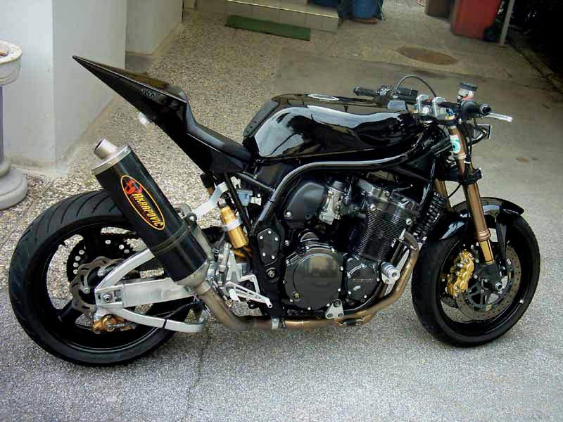 Gambar Modifikasi Motor Tiger