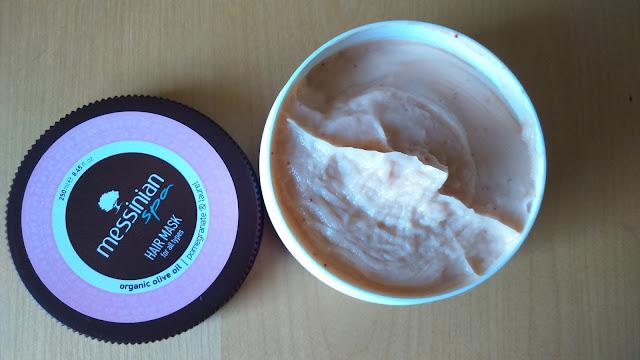 Messinian Spa - Μάσκα μαλλιών με Ρόδι και Δαφνέλαιο