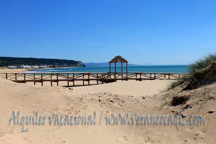 Alquiler vacacional en c diz playa de los ca os de meca historia vegetaci n nudismo - Casas de alquiler vacacional en cadiz ...