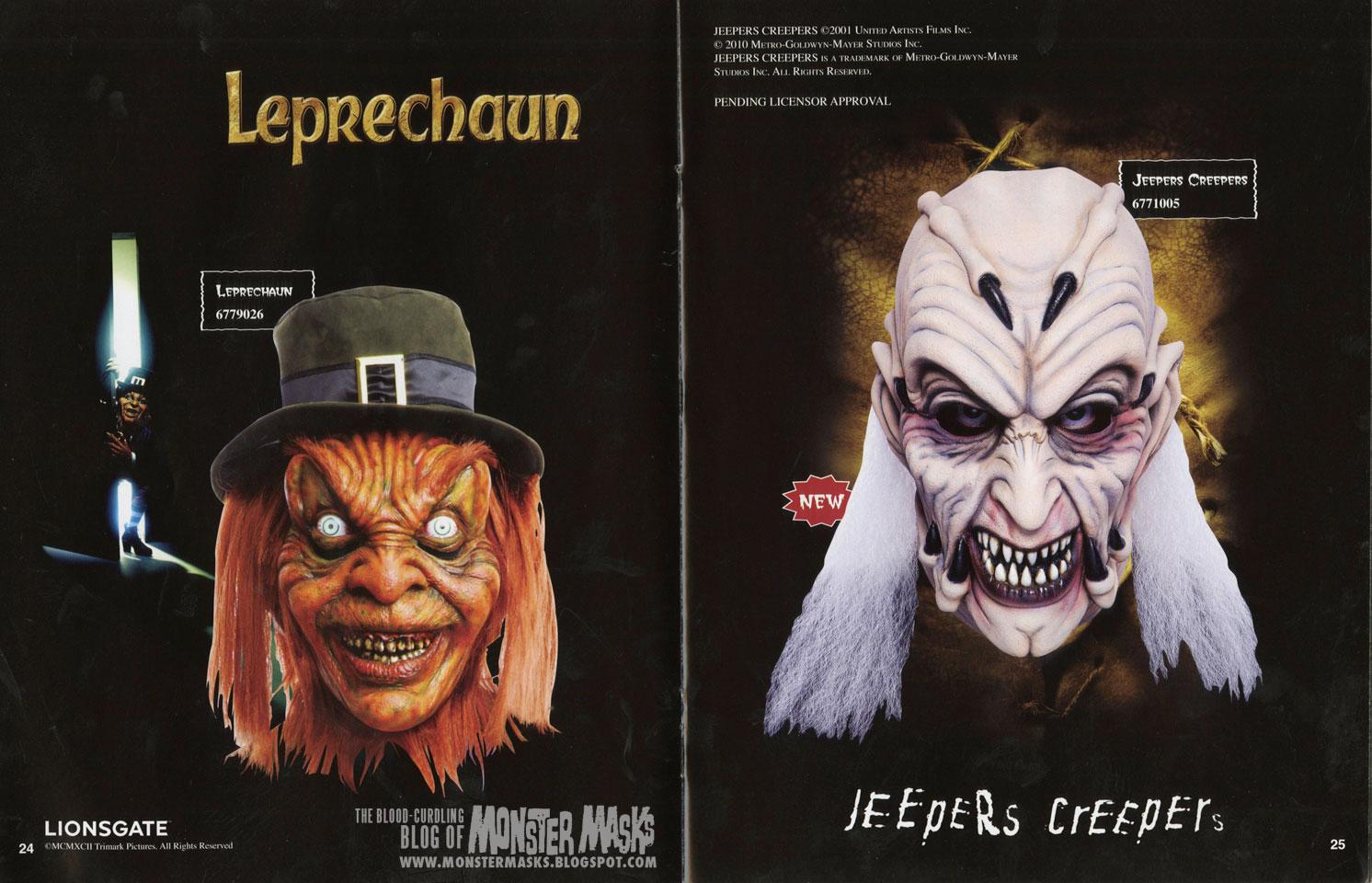 2010 Don Post Studios Catalog | Blood Curdling Blog of Monster Masks