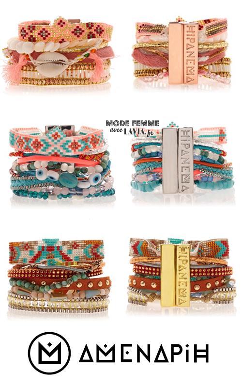 Bracelets brésiliens chic et colorés Hipanema