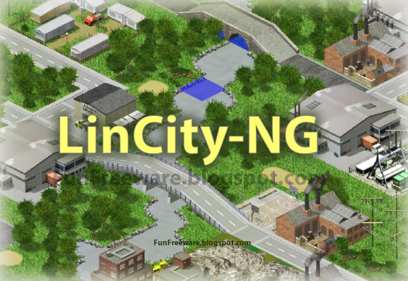 City Simulation Game - LinCity-NG Image