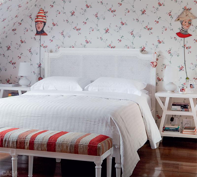 Casinha colorida Camas francesas, super românticas, com  ~ Quarto Solteiro Estilo Romantico