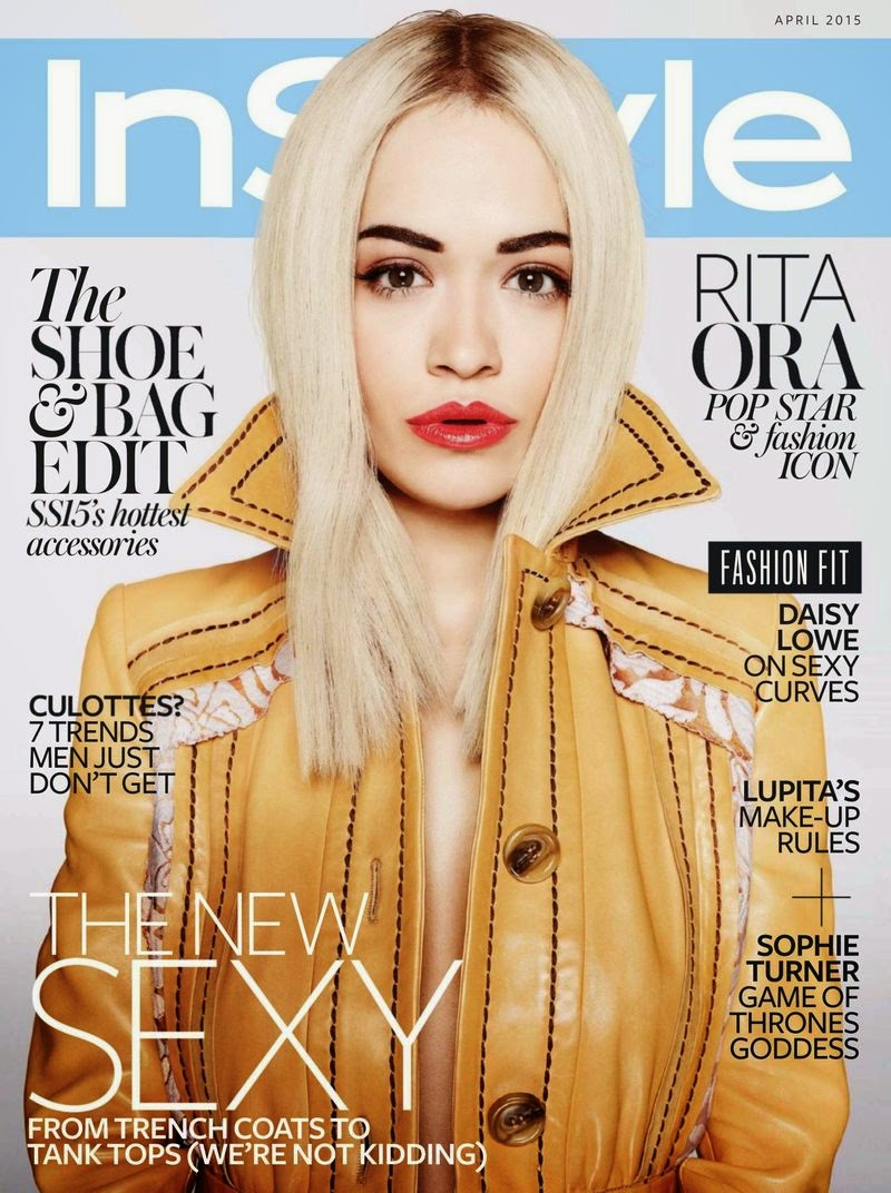 Singer, Songwriter, Actress @ Rita Ora - InStyle UK, April 2015