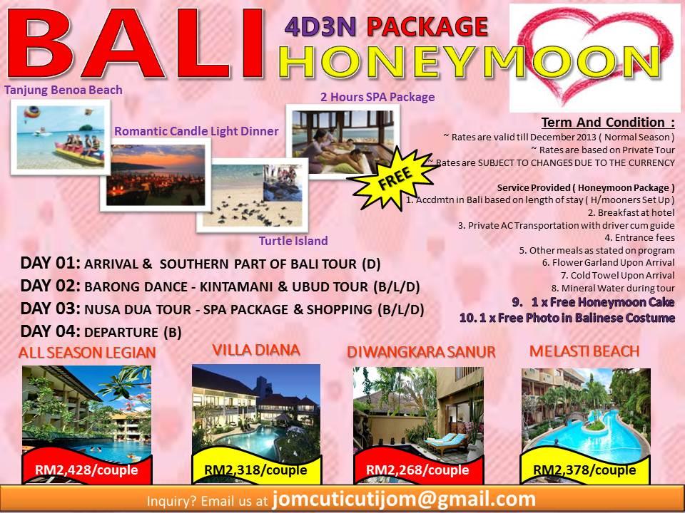 4D3N+BALI+HONEYMOON+PACKAGE+JCCJ+(refer+