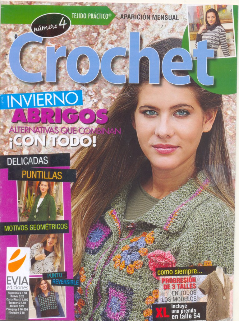 Revista Tejido practico Crochet Invierno №4 2011