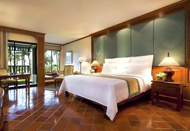 布吉JW Marriott酒店Deluxe Garden房間空間很充足