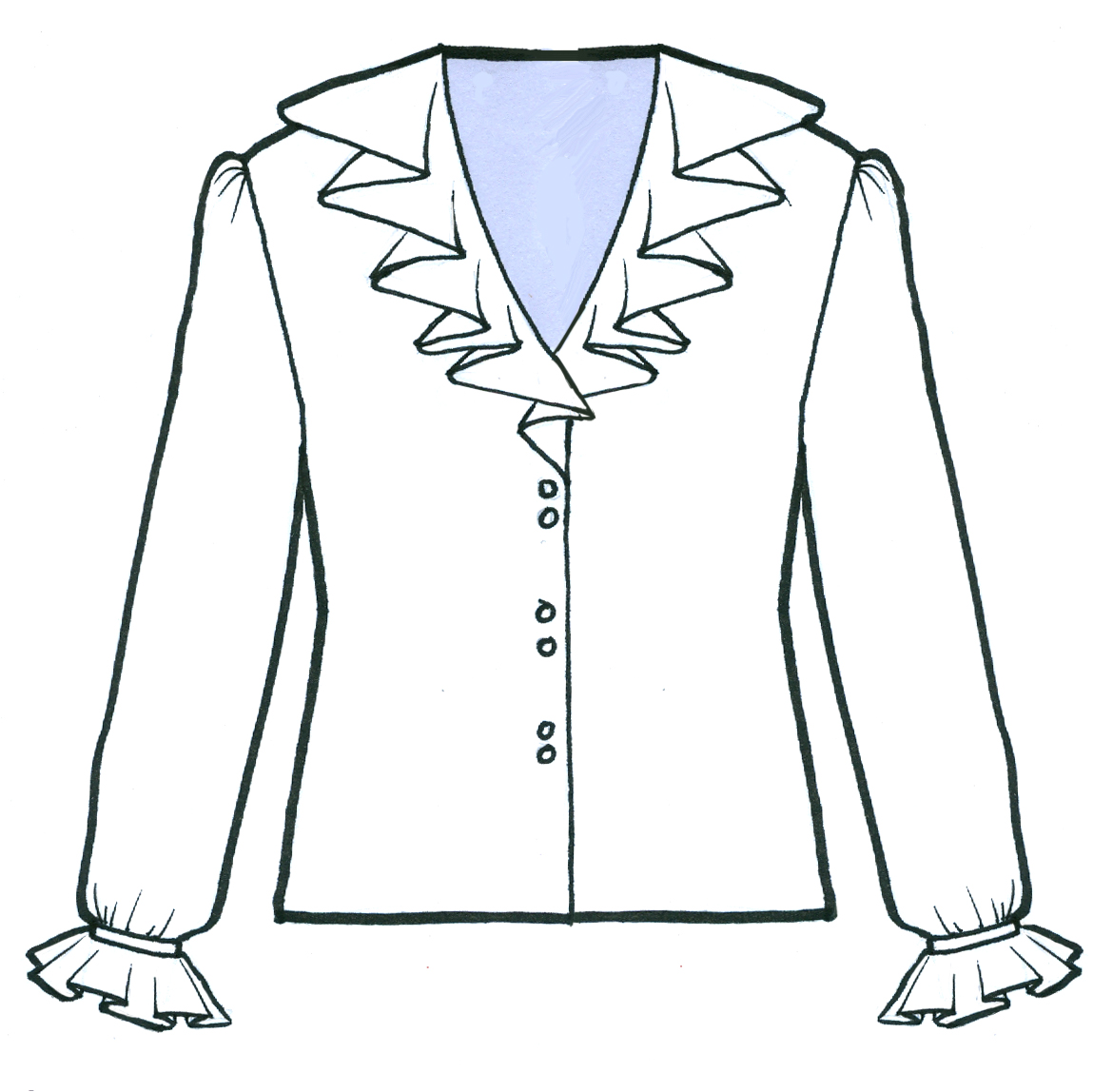 After Learning How To Draw The Gathered Skirts And Circular Skirts You Can  Use That Skill To Add Details To Shirts, Pants, Simple Skirts Or Where Ever  You