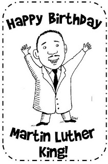 1st grade with miss snowden a birthday card for dr king for Martin luther king jr coloring pages