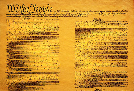 Copy of United States Constitution
