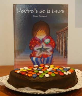 Llibre infantil L'estrella de la Laura- portada