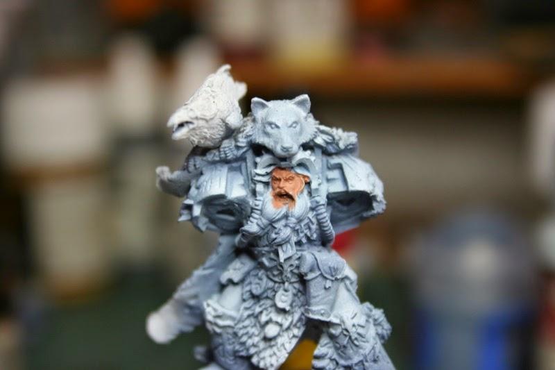 Pintura de la cara de con Tallarn Flesh del Citadel Fundation