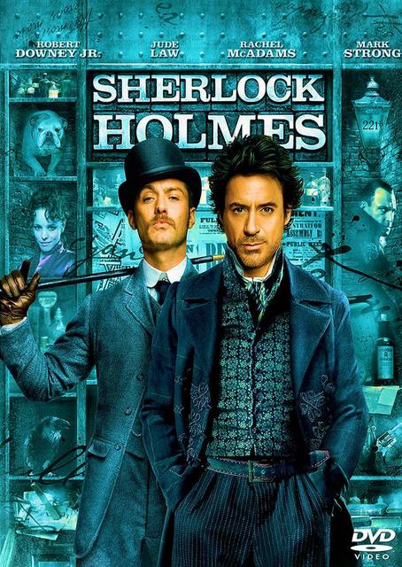Filme Sherlock Holmes Dublado AVI DVDRip