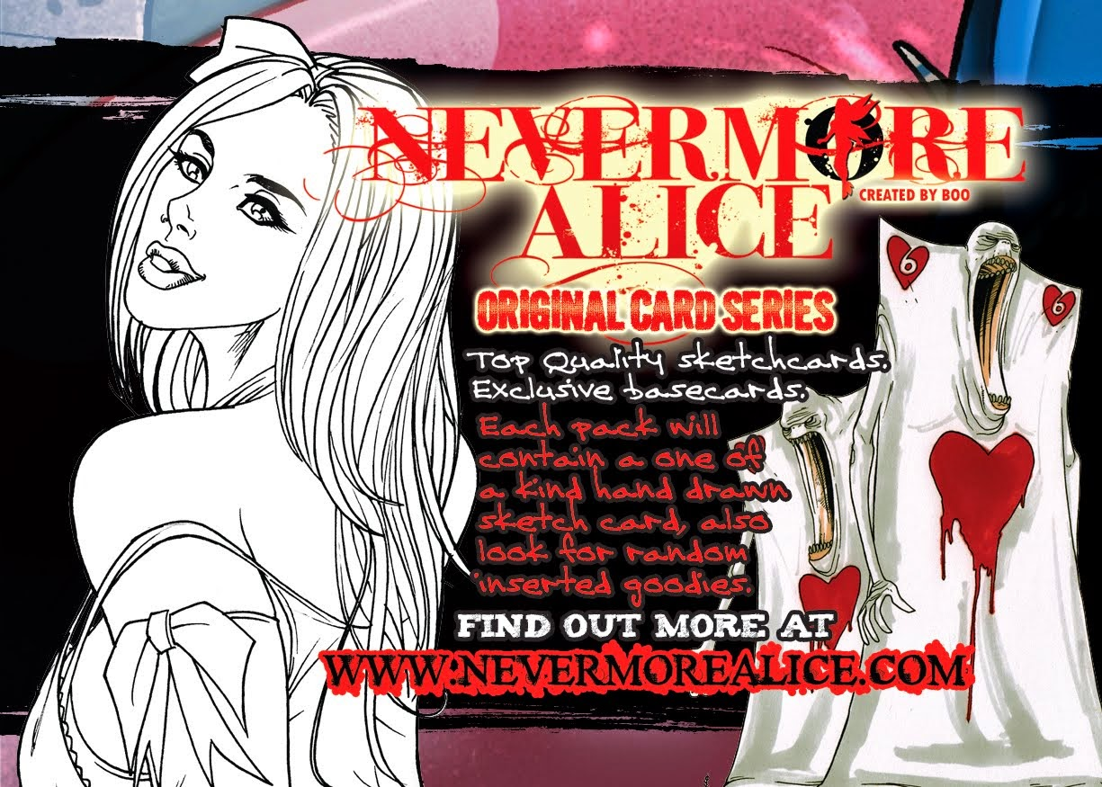 Nevermore Alice Promocard 1 Back
