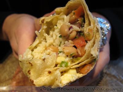 burrito chipotle vancouver
