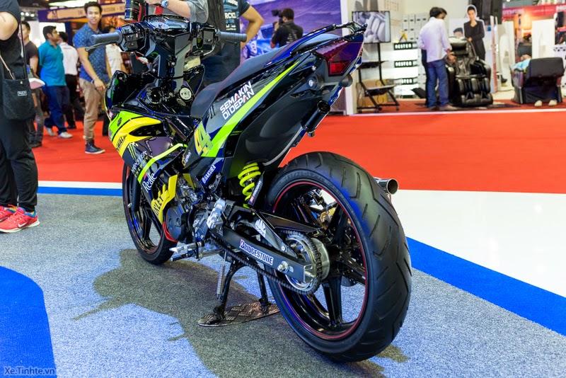 Hình ảnh Exciter 150 độ tại Bangkok Motor Show 2015