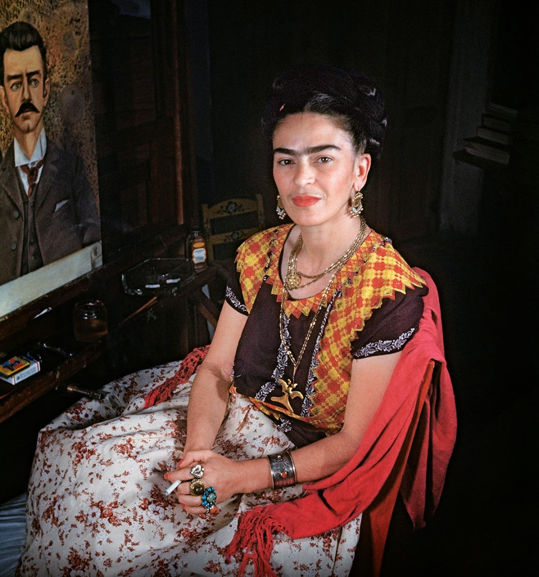 rare and loving photos of frida kahlo from the last years of her life in mexico city vintage. Black Bedroom Furniture Sets. Home Design Ideas