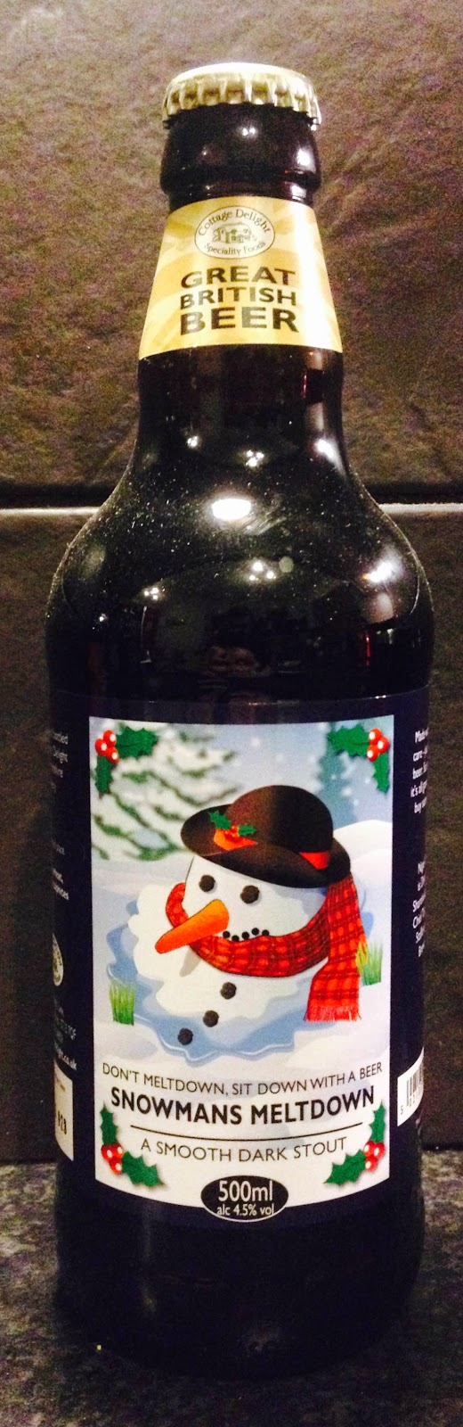 Snowmans Meltown (Staffordshire Brewery)