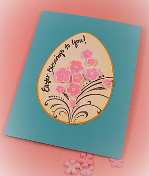 Handmade Easter Greeting Card