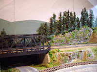 Scenery and vegetation under construction