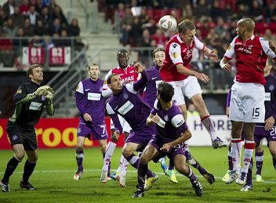 AZ Alkmaar 2 - 2 Austria Vienna (2)