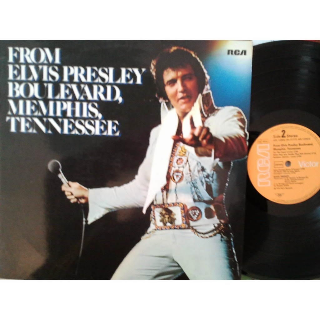 presley long play from elvis presley boulevard memphis tennessee 1976