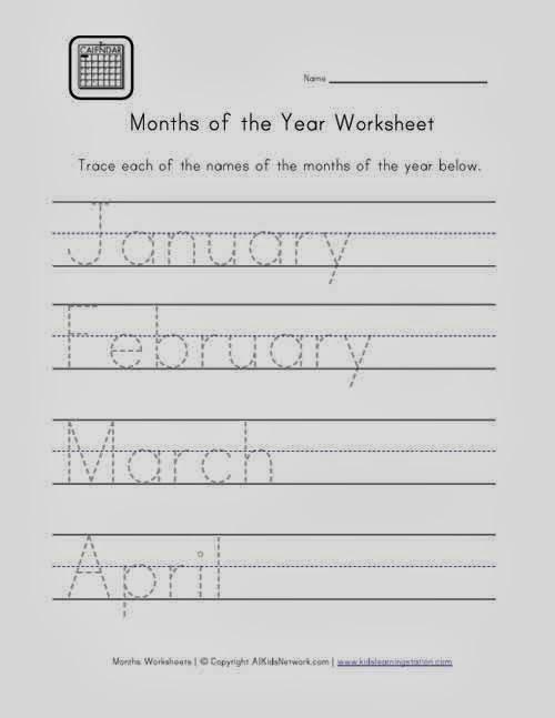 Worksheets For Handwriting