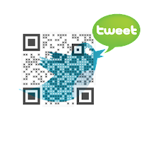 Scan to follow me on twitter!