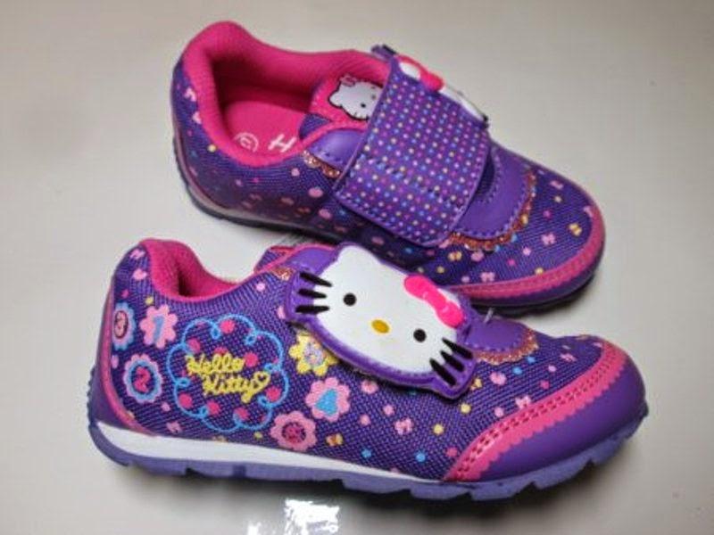 Gambar sepatu hello kitty untuk anak gambar gratis