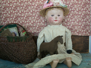 Miss Hazel and her Pony - Martha Chase Doll all original Doll and Dress.
