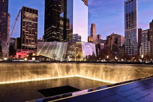 Khu tưởng niệm sự kiện 11/9, New York, Mỹ