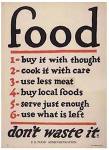 Voedseladvies Eerste Wereldoorlog