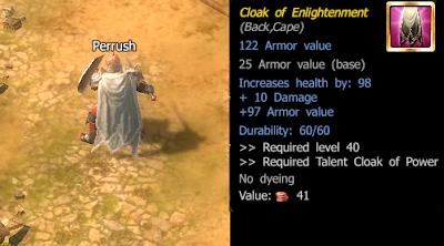 Drakensang Online Cloak of Enlightenment