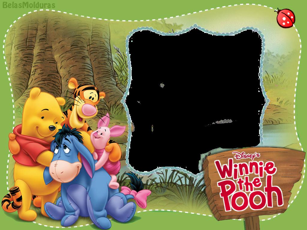 Molduras Do Ursinho Pooh