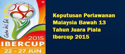 Juara Piala Ibercup 2015
